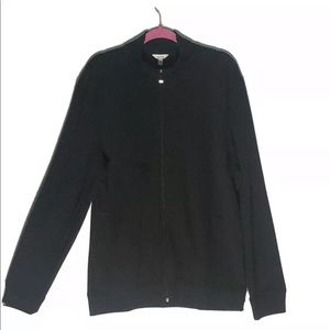 Calvin Klain Black Zip Up Jacket